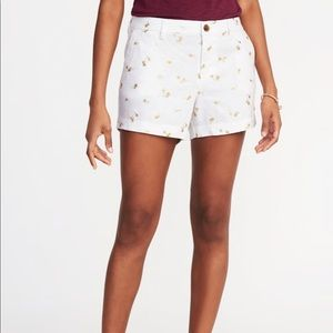 Old Navy Mid-Rise Everyday Linen-Blend Shorts